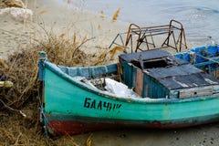 Bootsküste Lizenzfreies Stockbild