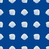 BOOTSrad des nahtlosen Musters des Schiffshelms Marine stock abbildung