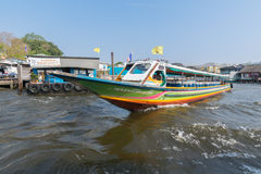 Bootsreise auf dem Chao Phraya Stockbild