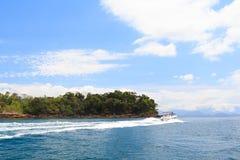 Bootsreise, Brasilien lizenzfreie stockfotos