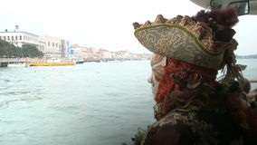 Bootsreise in Venedig stock video footage