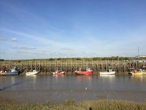Bootsroggen-Hafensommer Ost-Sussex Lizenzfreie Stockfotografie