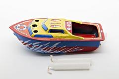 Bootsspielzeug Stockfoto