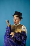 Bootst een acteur na Royalty-vrije Stock Fotografie