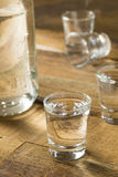 Boozy Alcoholic American Moonshine Shots Stock Photos