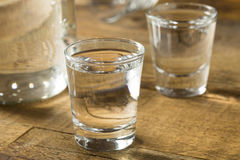 Boozy Alcoholic American Moonshine Shots Stock Photography