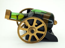 Boozy cannon Stock Image