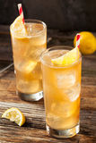 Boozy Long Island Iced Tea Royalty Free Stock Photo