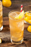 Boozy Long Island Iced Tea Stock Photos