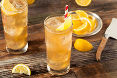 Boozy Long Island Iced Tea Stock Images
