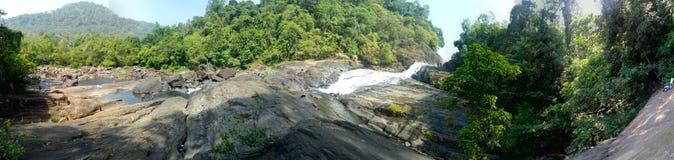 Bopath falls ella in kuruwita sri lanka stock image
