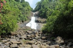 This is a bopath ella. It situated rathnapura district.it is the one of the very fantastic water fall in sri lanka Stock Photos