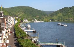 Boppard, Germania Immagini Stock
