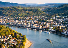 boppard germany Royaltyfria Bilder
