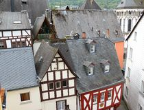 Boppard on the Rhine, Germany. Stock Photography