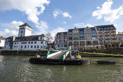 boppard and the rhine river germany Royalty Free Stock Images