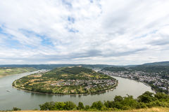 Boppard River Rhine Germany Stock Photography