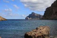 Boquer dal på Majorca arkivfoton
