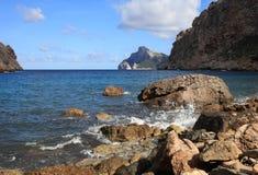 Boquer dal på Majorca spain royaltyfria bilder
