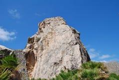 Boquer dolina w Majorca zdjęcia stock