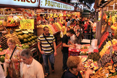 Boqueria, Barcelona Royalty Free Stock Image