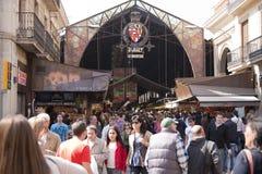 Boqueria Market Royalty Free Stock Images