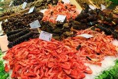 Boqueria market, Barcelona Stock Photos