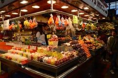 Boqueria market, Barcelona, Spain Stock Image