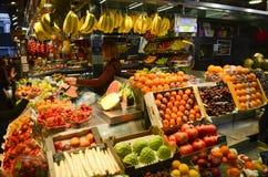 Boqueria market, Barcelona, Spain Royalty Free Stock Photo