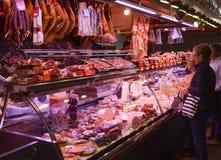 Boqueria market, Barcelona, Spain Stock Photography