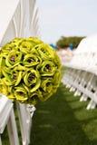Boquet do assento do casamento Foto de Stock Royalty Free