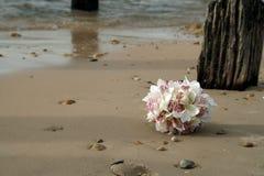 Boquet en la playa Imagenes de archivo