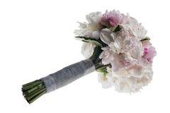 Boquet nuptiale blanc Photographie stock libre de droits