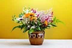 Boquet of wilde flowers. Stock Photo