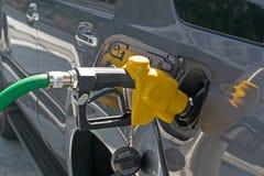 Boquilla de la gasolina imagenes de archivo