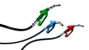 Boquilla del surtidor de gasolina stock de ilustración