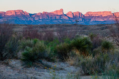 Boquillas Canyon Sunset stock photos