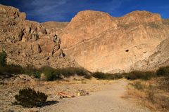 Boquillas Canyon Trail Stock Image