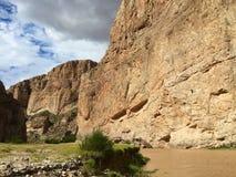 Boquillas kanjon Fotografering för Bildbyråer