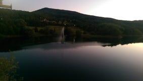 Bor湖,塞尔维亚 库存照片
