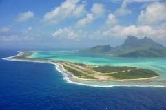 Bor bory, francuski Polynesia Obrazy Stock