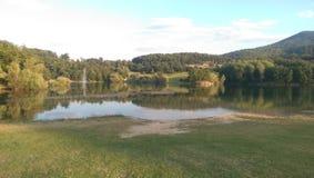 Bor sjö, Bor Serbien Arkivbild