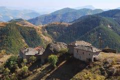 Bor village, East Rhodopes mountain. Bulgaria is fading away Stock Photos