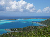 Bora Bora ö Royaltyfri Foto