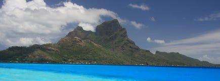 Bora Bora широкоформатное Стоковые Фото