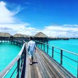 Bora Bora Royaltyfri Fotografi