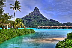 Bora Bora Royalty-vrije Stock Foto