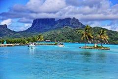 Bora Bora Fotografia Stock Libera da Diritti