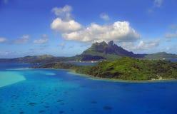 Bora Bora. Aerial View of Bora Bora Stock Images