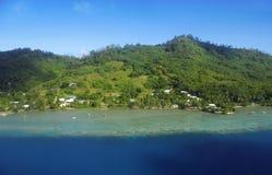 Bora Bora. Aerial View of Bora Bora Stock Photos